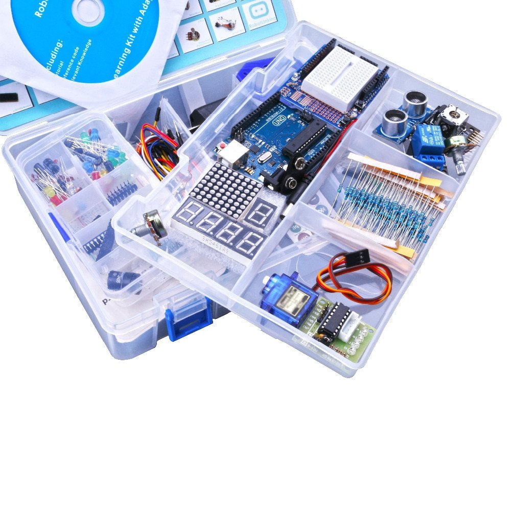 Complete Starter Kit for Arduino UNO R3 Mega2560 Nano with Tutorial