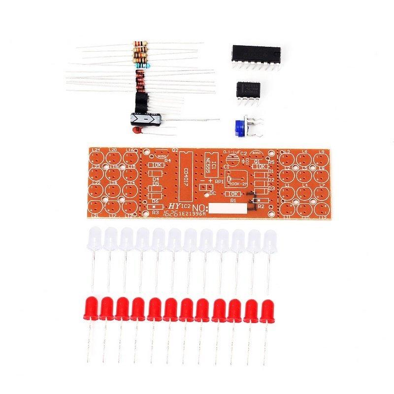 100 pcs 5mm Red Green Blue Fast Flash LED Diode Lights DC 3V 20mA Bulb Lamps CQ